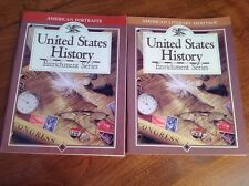 United States History Teacher Resource Lot of 2 Biographies and Literature