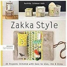 Zakka Style: 24 Projects Stitched with Ease to Give, Use & Enjoy (Design Collec