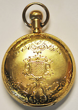 Jaccard Longines 18k Solid Gold Hunters Case Pocket Watch Recently Serviced