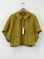 In Wear BNWT Womens Lime Wool Short Jacket Size 34 (UK 8)