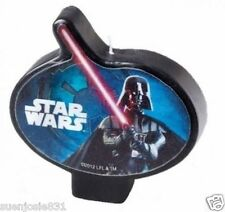 Star Wars Darth Vader Candle 1ct Cake Cupcake Decoration Topper Party Supplies