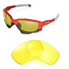 New Walleva Yellow Replacement Lenses For Oakley Jawbone Sunglasses