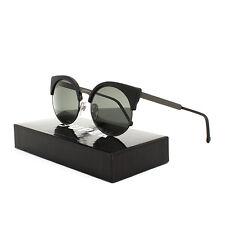 RETROSUPERFUTURE Super Ilaria Womens Sunglasses SUAWW Black Matte Silver Frame