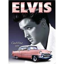 "Original Metal Sign Co Wall Sign Elvis Presley 1955 Cadillac Style 8"" x 6"""