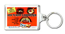 HOW TO MAKE A MONSTER 1958 KEYRING LLAVERO