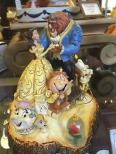 "Disney Traditions by Jim Shore Beauty and the Beast Figurine ""Tale as Old as Ti"