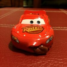 Disney Pixar Cars LIGHTNING MCQUEEN RARE tongue diecast  Excellent Condition!!