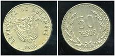 COLOMBIE 50 pesos 1990  ( bis )
