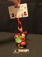 Disney Store Authentic Sketchbook Christmas ornament 2014 Minnie Mouse