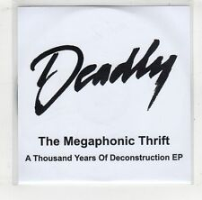 (GV189) The Megaphonic Thrift, A Thousand Years of Deconstruction EP- 2009 DJ CD