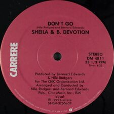 Sheila & B. Devotion - Spacer CRAZY RARE Nile Rodgers Producer 1979