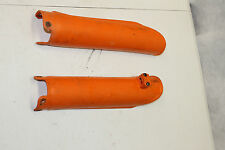 2006 KTM 250 XC-W   LOWER FORK GUARDS  LEFT & RIGHT
