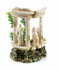 Greek Ancient Ruin Columns Grecian Goddess & Plants BiOrb Aquarium Ornament
