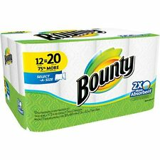 Bounty Select-A Size Paper Towels Mega Rolls, 105 sheets, 12 rolls