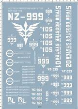 Super Detail Up 1/144 UC NZ-999 NEO ZEONG Gundam HG Water Decal Model Kit 63451