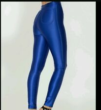 American Apparel royal blue disco pants xs