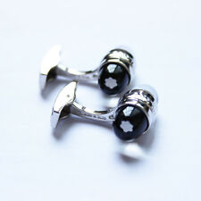 Mont Blanc Urban Walker Collection Stainless Steel Men's Cuff Links