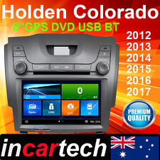 """8"""" Holden Colorado 2012+ IN DASH GPS DVD Navi Bluetooth Stereo Radio Factory Fit"""