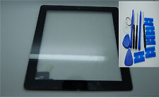 Brand NEW IPAD 2 DIGITIZER, touch screen, Vetro Anteriore Nero,3 M ADESIVI