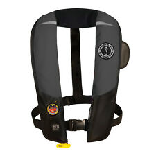 MUSTANG HIT INFLATABLE PFD AUTOMATIC GRAY/BLACK