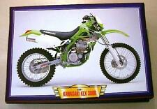 KAWASAKI KLX 300R 300 R CLASSIC MOTOCROSS MOTORCYCLE MX BIKE 2000'S PICTURE 2001