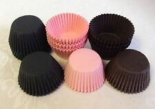 SAVER PRICE - pack of 100 of each colour NEW paper MINI muffin / cup cake cases