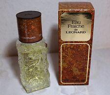 Grundpreis100ml 65,-€)60 ml Eau Fraiche de Leonard Eau Fraiche  (Vintage)