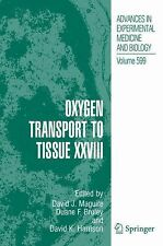 Advances in Experimental Medicine and Biology Ser.: Oxygen Transport to...
