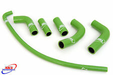 KAWASAKI EX 250 R NINJA 2008-2015 HIGH PERFORMANCE SILICONE RADIATOR HOSES GREEN