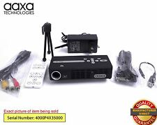 AAXA P4X Pico Pocket Projector, 125 Lumen LED, 90+ Minute Battery (Refurbished)