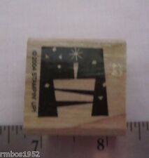 Stampin Up What Could Be Better Birthday Cake Stamp One Wood Stamp