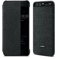 Genuine Official Huawei Smart Cover Case with Window for P10 Dark Grey