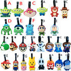60 Styles New Super Mario Toy Story Inside Out Monsters University Luggage Tags