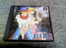 FREE SHIP USED GUNNERS HEAVEN Playstation japan PS