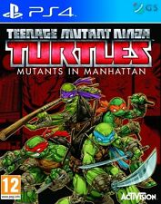 Teenage Mutant Ninja Turtles mutantes en Manhattan PS4 * NUEVO PRECINTADO PAL *