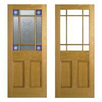 LPD Nostalgia Victorian Style Downham Oak Interior/Internal Door - Not Reclaimed
