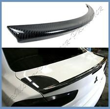 Carbon Fiber For 08-15 Mitsubishi Lancer EVO X 10th M Style Trunk Boot Spoiler
