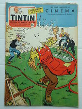 JOURNAL TINTIN n° 380  LES FRERES LUMIERE ( 4 p ) COUVERTURE REDING ( PLOM/ARS )