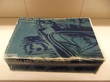 STORIA DEL MONDO ANTICO-SANSONI-ED 1975-ROSTOVTZEFF-------------E8