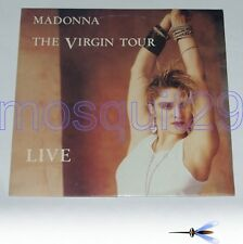 "MADONNA ""THE VIRGIN TOUR"" RARE DOUBLE LP MINT"