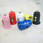 Mini Bullet Dual 2-Port USB Car Charger Adaptor For iPhone 4 4S iPod S3 Note lot