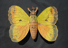 DV6688 BUTTERFLY MECHANICAL TOYS SCHMETTERLING MECHANISCHE PAPILLON GERMANY 1920