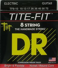DR Tite Fit 8-String Medium 10-75 Electric Guitar Strings TF8-10