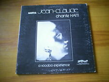MARTHA JEAN CLAUDE Chante HAITI A Voodoo experience US LP MINI RECORDS 1975