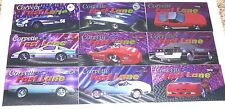 Corvette Heritage Collection - Collect-a-card in 1996. 9 card Fast Lane inserts