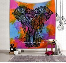 Elephant Tapestry Hippie Wall Hanging Queen Indian Bedding Bedspread Beach Throw