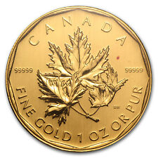 2007 Canada 1 oz Gold Maple Leaf .99999 BU (No Assay) - SKU #59993