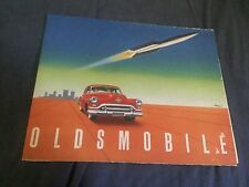 1951 Oldsmobile 88 98 Full Line Color Brochure Prospekt