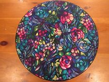 Dragonflies Stained Glass Look Lazy Susan Wood by MamaZooka Designs