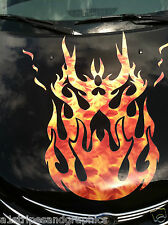 Flame Flames #2 FULL COLOR HOOD Graphics Fit P/T Cruiser Chevy HHR SSR Decals